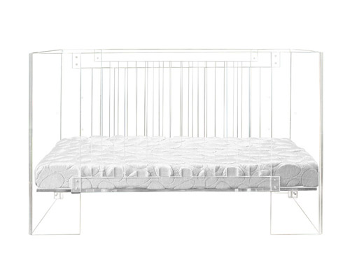 Vetro Lucite Crib by NurseryWork