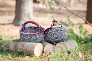 Recycled Baskets by Ayindisa