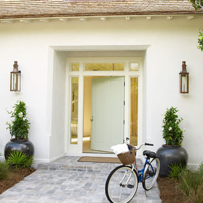 Coastal Living Ultimate Beach House front door