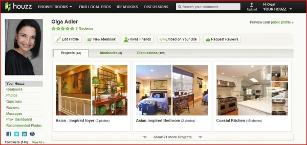olga adler on houzz
