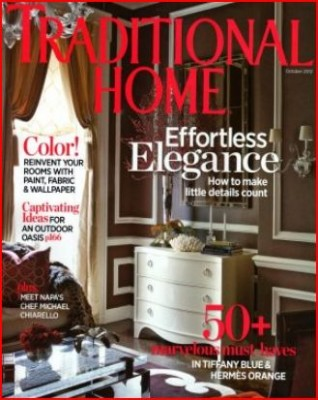 traditional home magazine cover october 2012