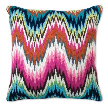 Bargello Worth Ave Pillow Jonathan Adler