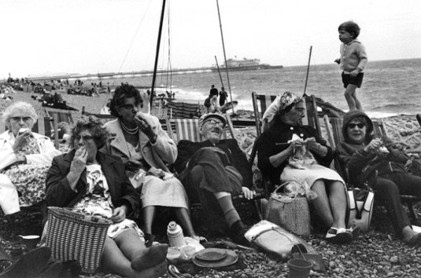 Brighton Beach by Tony Ray Jones 1966