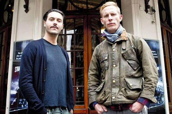 Jack Houston and Laurence Fox - Strangers on a Train West End