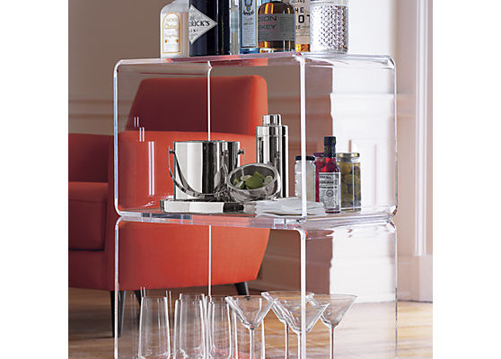 Peekaboo Bar Cart