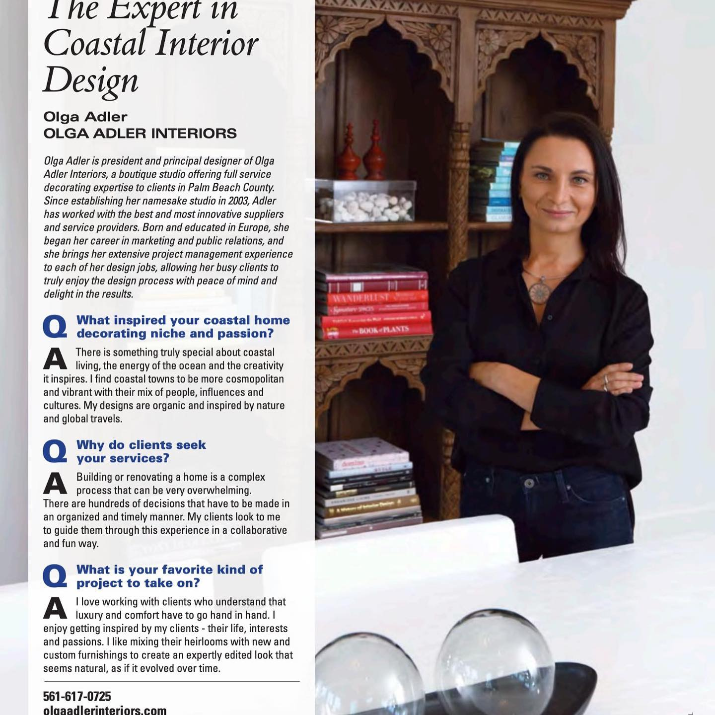Thank you Boca Magazine for a lovely feature among Boca Magazines's Experts @bocamag #interiordesign #interiordesigner #delraybeachinteriordesigner #bocaratoninteriordesign #delraybeach #delraybeachfl #coastalliving #coastaldecor #coastalinteriors #coastalhome #coastalinteriors #olgaadlerinteriors #olgaadler #olgaadlerint @ Olga Adler Interiors - Interior Design and Decor